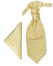 Yellow-Gold Cravat Set by Paul Malone (PLV15H)