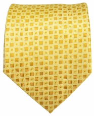 Yellow Men's Necktie