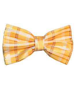 Yellow Patterned Bow Tie Set  (BT438-B)