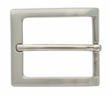 "1-3/8"" Brushed Nickel Plated Casual Dress Belt Buckle 505-NB"