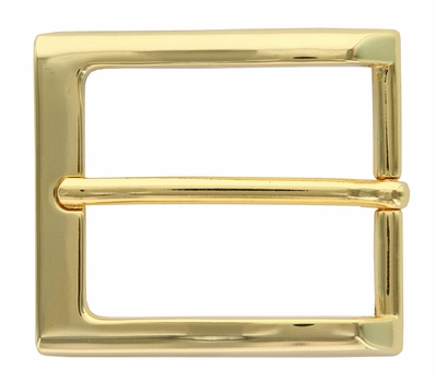 "1-3/8"" Gold Plated Casual Dress Belt Buckle 505-GP"