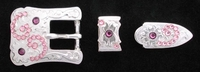 1170620922 Rhinestones Buckle Set 3/4""