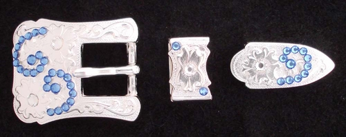1170621193 Rhinestones Buckle Set 3/4""