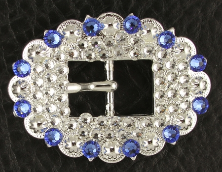 1284848749 Rhinestone Cart Buckle 3/4""