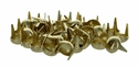 "1330-05 Round Spots 3/8"" (1 cm) Brass Plated 100/pk"