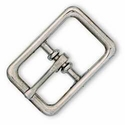 "1509-00 Bridle Buckle 1/2"" (1.3 cm) Nickel Plated"