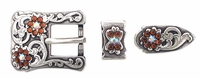 174092732 Rhinestones Buckle Set 3/4""
