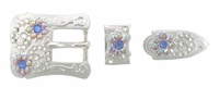 174092927 Rhinestones Buckle Set 3/4""