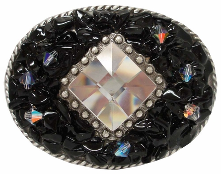 176003035 Rhinestone Belt Buckle
