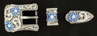 182486685 Rhinestones Buckle Set 3/4""