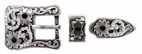 182488215 Rhinestones Buckle Set 3/4""