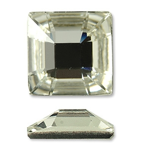 25mm Square Swarovski Flat Back Rhinestone Crystals