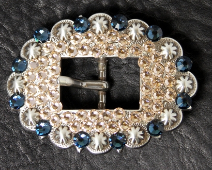 283976227 Rhinestone Cart Buckle 3/4""