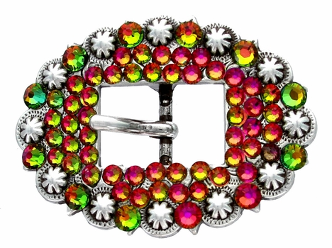 295051265 Rhinestone Cart Buckle 3/4""