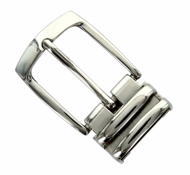 "4008 NP Double Loop Clamp Belt Buckle fit's 1-1/8"" (30mm) wide Belt"
