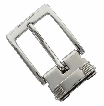"""4089A NP Clamp Belt Buckle fit's 1-1/8"""" (30mm) wide Belt"""
