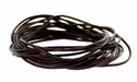 #657-2 Leather Cord 2mm@16 feet - Dark Brown