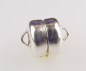 #722 s/s magnetic clasp 6mm @1 set
