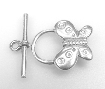 #729-92 s/s toggle [butterfly] 12mm @1 set