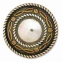 "7731-10 Angel Fire Round Concho 1-1/2"" (3.8 cm)"