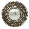 "7732-10 Angel Fire Round Concho 1"" (2.5 cm)"