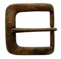 "A0041 Vintage Rusty Color Finish Belt Buckle fit's 1-1/2"" (38mm) wide Belt"