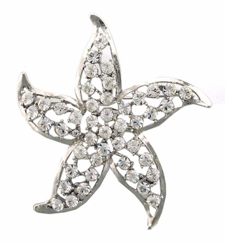 AB10663 Silver Star Pin
