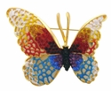AB7895 Butterfly Pin