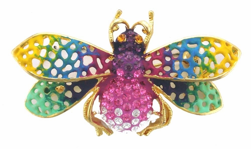 AB7897 Honey Bee Pin