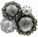 Berry/Scalloped Conchos