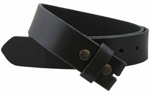"BS1200 Leather Belt Strap 1.5"" Wide Brown"