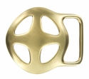 BS3503 OEB Cross Solid Brass Belt Buckle OEB