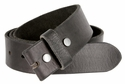"BS40 Vintage Full Grain Leather Belt Strap 1 1/2"" Wide-Black"