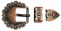 """BS8649 3/4"""" Copper Berry Buckle Set"""