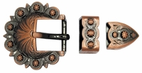 "BS8649 3/4"" Copper Berry Buckle Set"