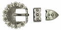 """BS8649 3/4"""" NP Berry Buckle Set"""