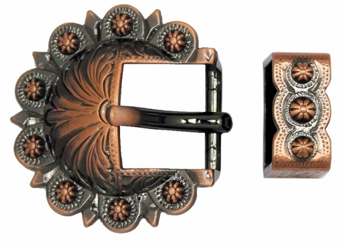 BS8649 Copper Berry Buckle, Loop Set