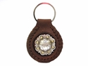 BS9163-1 SRTPGP Berry Concho Key Fob Ring