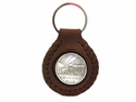 BS9183B Coin Concho Key Fob Ring