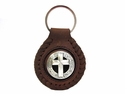 BS9270 SRTP Cross Concho Key Fob Ring