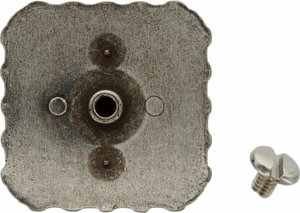 "BS9291-2 SRTPGP 1-3/8"" Berry Square Concho"