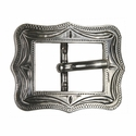 "BS9308-2 SRTP 5/8"" Antique Silver Cart Buckle"