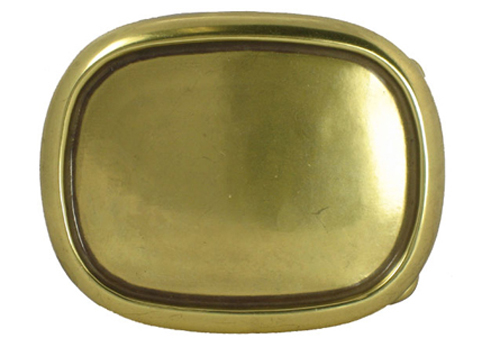 C243 Brass Plain Buckle