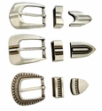 "Contemporary and Southwestern Belt Buckle Sets 1"" wide (Click here to see more Styles)"