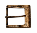 CX-03 Antique Copper Heel Bar Belt Buckle