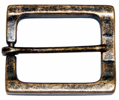 CX-04 Rectangular Antique Copper Heel Bar Belt Buckle