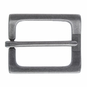 CX-04 Rectangular Antique Silver Heel Bar Belt Buckle