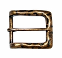 CX-05 Antique Copper Heel Bar Belt Buckle