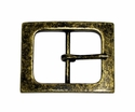 CX-06 Antique Brass Center Bar Belt Buckle