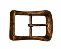 CX-07 Antique Copper Center Bar Belt Buckle